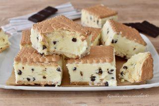 BISCOTTO Gelato Tiramisu Senza gelatiera Ricetta Dolce dessert freddo