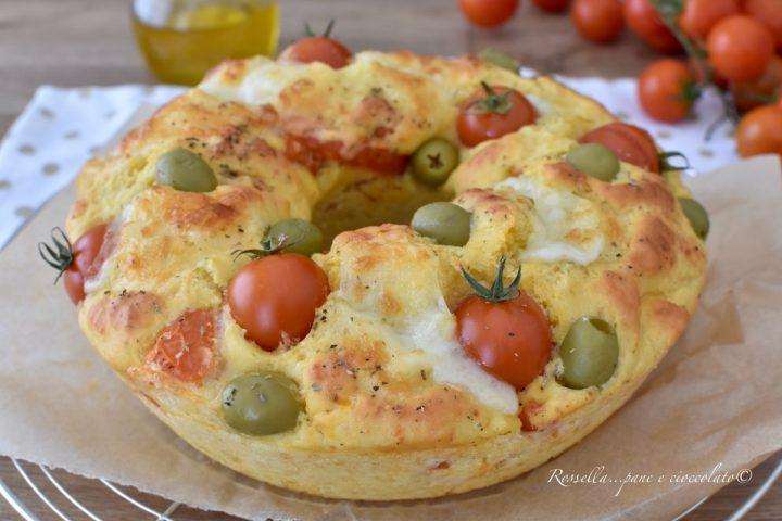 CIAMBELLA salata al Cucchiaio Mediterranea Ricetta Antipasto facile