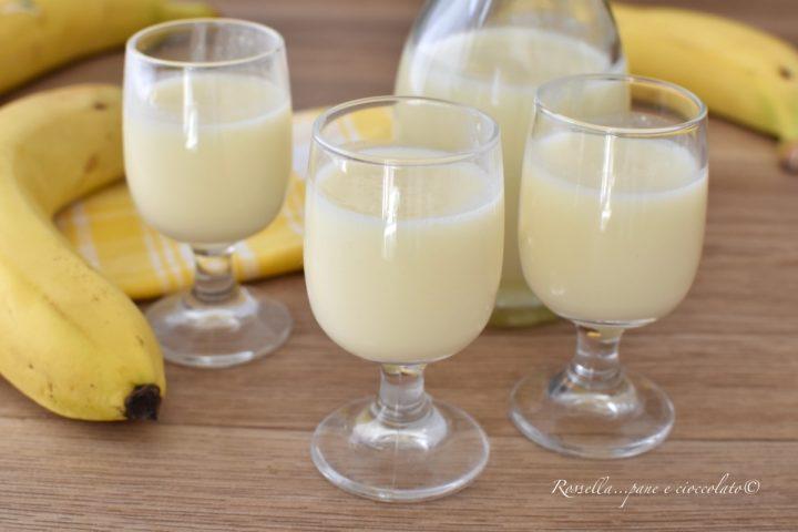 Liquore alla Banana o Bananino RICETTA Cremosa e poco DOLCE