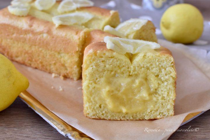PLUMCAKE alla Crema Limone Ricetta cremosa del DOLCE più facile