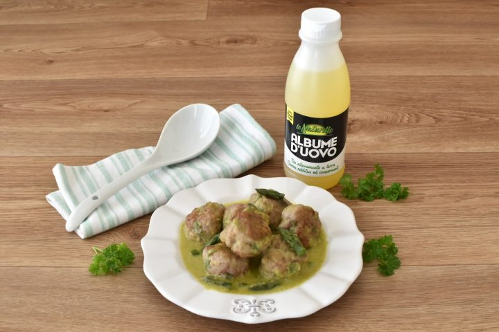 Polpette agli Asparagi Ricetta secondo Piatto in Padella