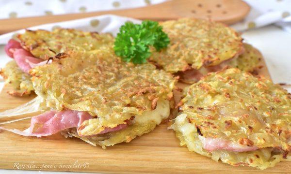 Rosti di PATATE Ricetta Originale con patate crude velocissima