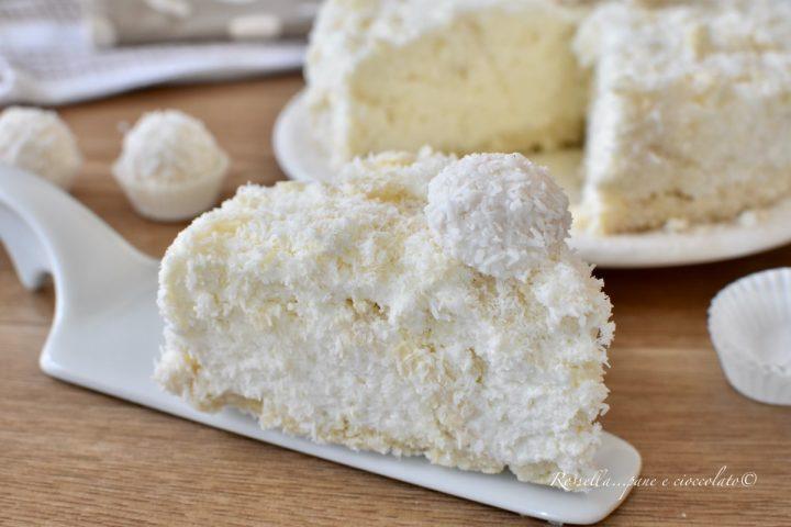 torta cocco e wafer