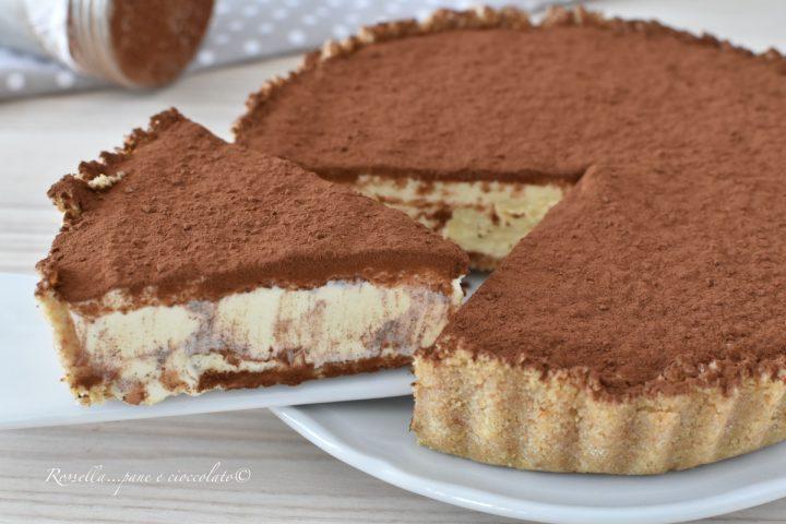 Torta Tiramisu Semifreddo Senza Cottura Ricetta Dolce fresco