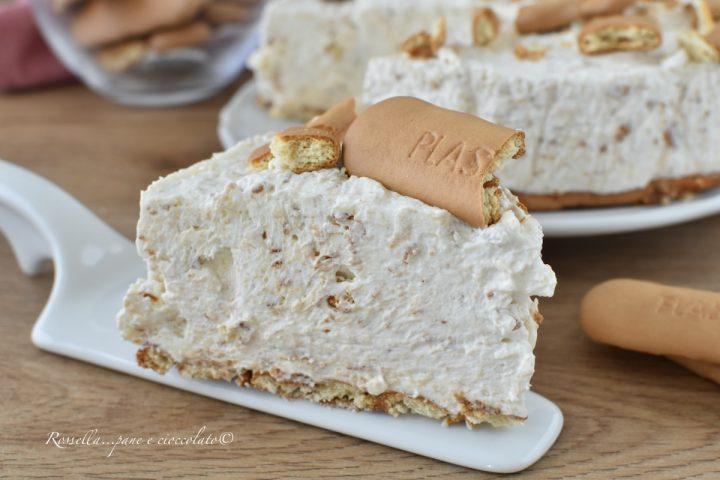 Torta Cheesecake ai Plasmon Ricetta Dolce desset facilissimo e Freddo