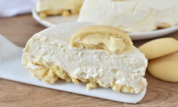 CHEESECAKE ai Grisbi al Limone Ricetta Semifreddo Dolce dessert