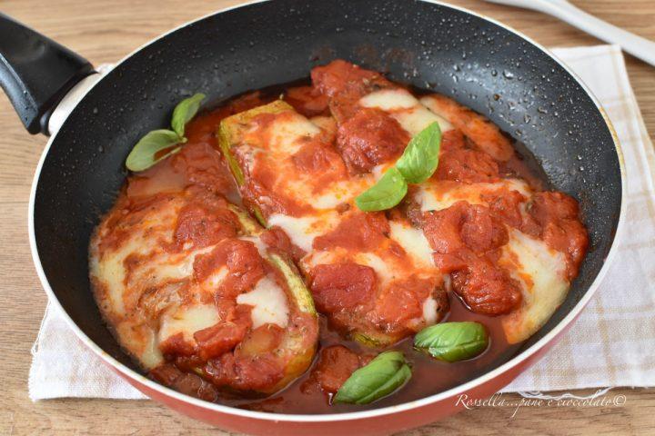 Fette di Zucchine alla Mozzarella Ricetta con Cottura in padella