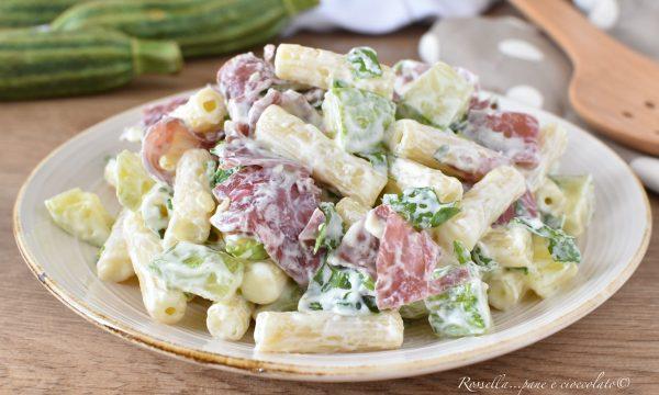 Insalata di PASTA fredda Zucchine e Bresaola Ricetta leggera