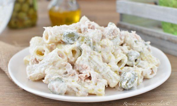 PASTA Tonnata Fredda una Ricetta di Insalata di pasta fresca