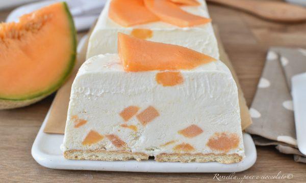 Semifreddo al Melone Ricetta Dolce Dessert freddo senza gelatiera