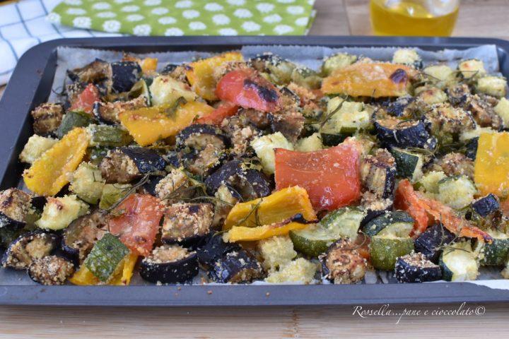 Verdure al Parmigiano Ricetta CONTORNO o ANTIPASTO veloce