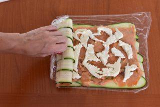 rotolo di zucchine salato