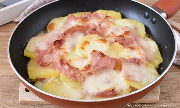 Parmigiana di Patate in Padella Ricetta Piatto anche Contorno o Antipasto