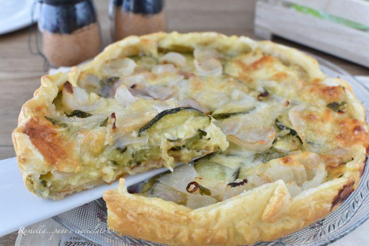 Torta Salata Gratinata alle ZUCCHINE Ricetta Antipasto o Piatto completo