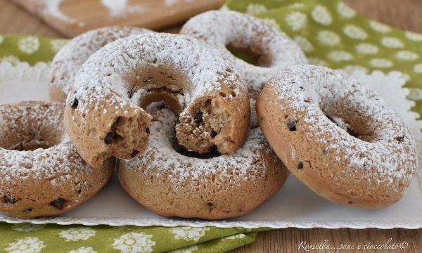 CIAMBELLE Cookie al Cioccolato di Pasta Frolla Ricetta DOLCE facile