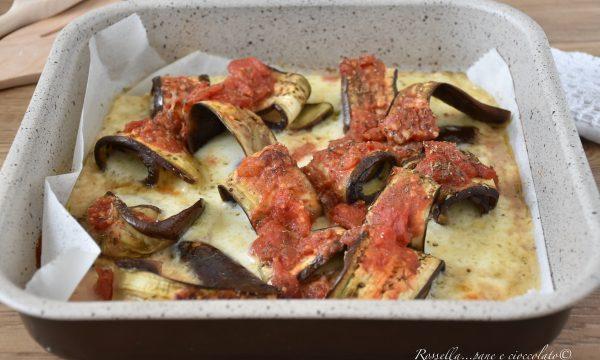 MELANZANE alla Mozzarella e Pomodoro  al Forno Ricetta Contorno