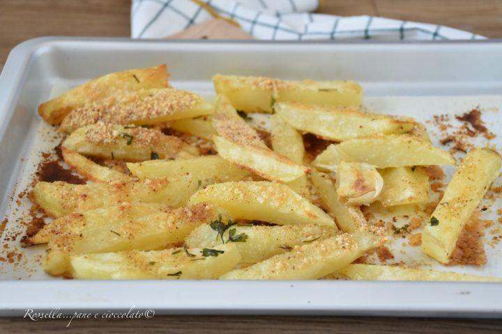 PATATINE al Forno Gratinate con Parmigiano Ricetta Contorno perfetto