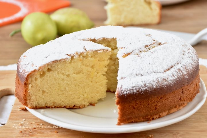 TORTA Mariarosa al Limone Soffice Ricetta Dolce con Ricotta