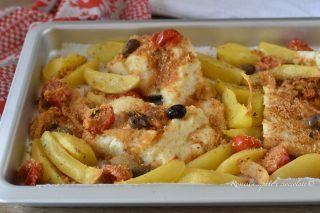 Baccala alla Siciliana Gratinato al Forno con Patate la Ricetta perfetta
