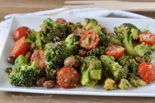 Broccoli alla Siciliana in Padella gratinato, un CONTORNO sfizioso
