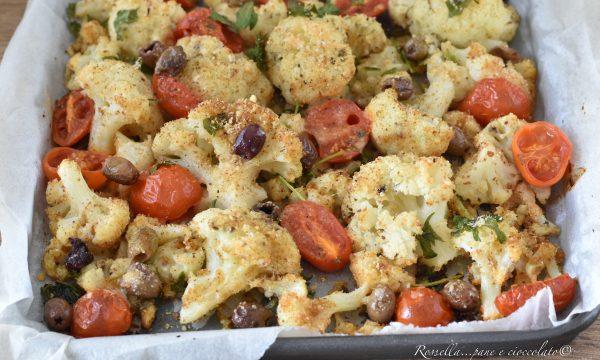 Cavolfiore alla Siciliana Gratinato da Contorno cucinato al Forno