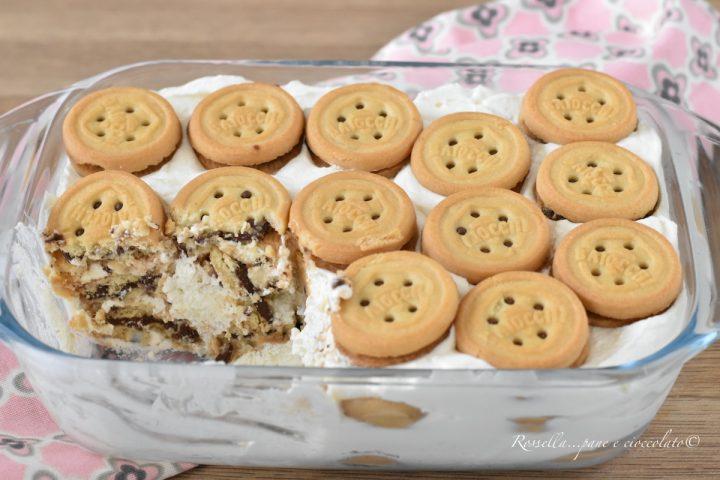 DOLCE con Biscotti Baiocchi alla Nocciola la Ricetta che farà impazzire tutti