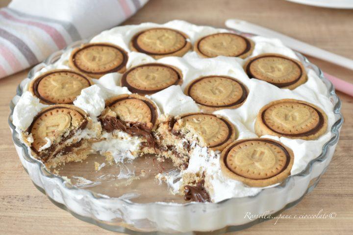 DOLCE ai Nutella Biscuits la Ricetta con pochi Ingredienti favolosa!