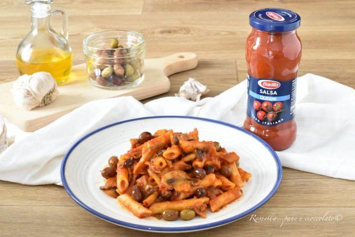 Penne alla Salsa di Ciliegini e Funghi la Ricetta della Pasta saporita imperdibile!