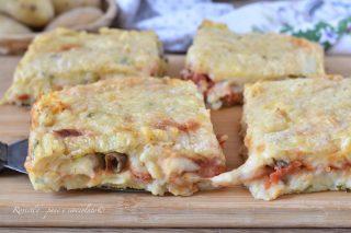 Pizza di PATATE alla Siciliana con Ripieno di Caciocavallo, la ricetta gustosa!