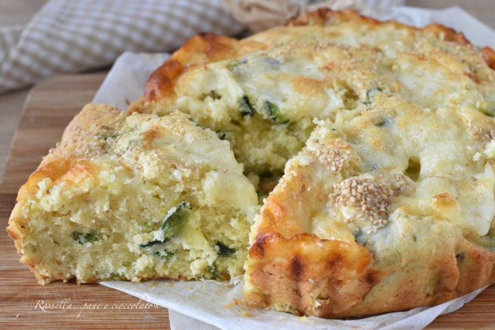Torta Salata alle ZUCCHINE la Ricetta da Antipasto in poco tempo!