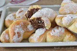 Trecce Brioche alla Siciliana i DOLCI allo Zucchero Ripieni