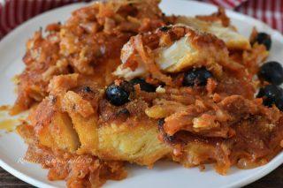 Baccala a Sfincione alla Siciliana la Ricetta del Secondo Piatto al Forno