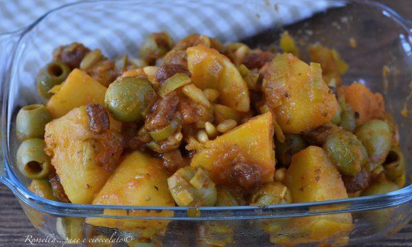 Caponata di Patate alla Siciliana il CONTORNO della Tradizione facile