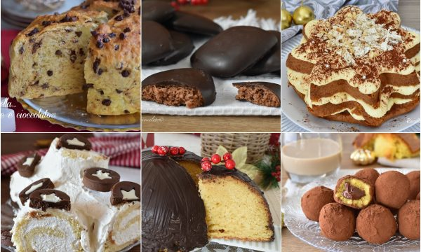 DOLCI di Natale le Ricette per le Feste: Biscotti Panettone ed Altro