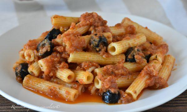 PASTA al Pesto di Pomodorini alla Siciliana la Ricetta del Primo Piatto facile