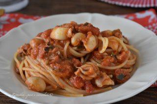 SPAGHETTI con Seppie alla Siciliana il primo piatto di PASTA saporito