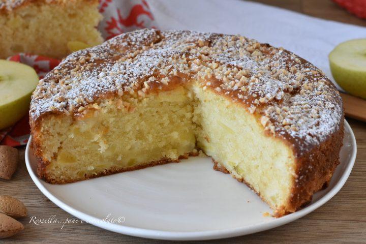 TORTA di MELE Mandorle e Mascarpone la Ricetta Dolce Senza Burro