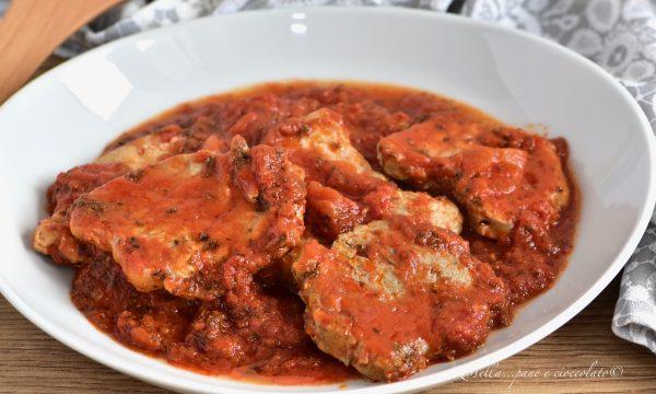Carne alla PIZZAIOLA alla Siciliana la Ricetta del Secondo Piatto tenerissimo