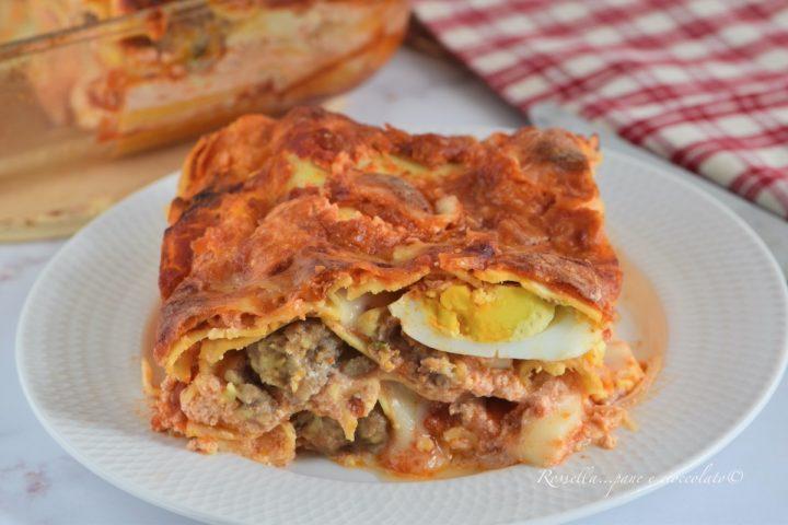 Lasagne alla Napoletana il Primo Piatto di Pasta al Forno Tradizionale