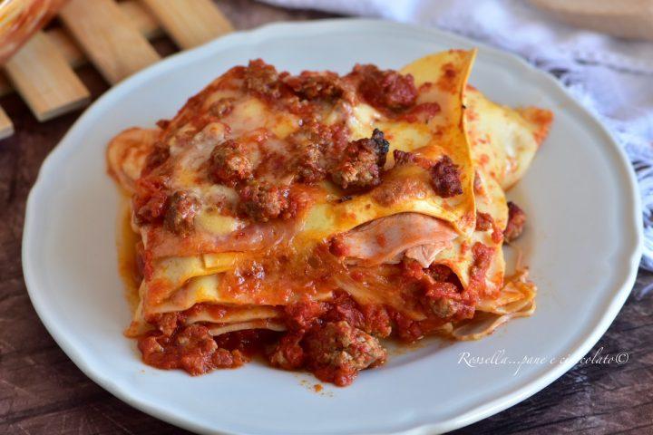 Lasagne alla Siciliana il Piatto di PASTA al Forno tipico e saporito da fare a casa