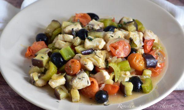 Caponata di Pesce Spada alla Siciliana Ricetta Secondo Piatto tipico