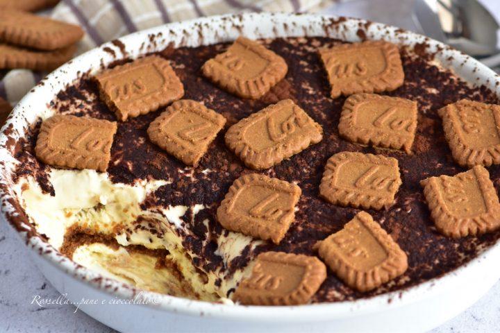 Tiramisu ai Biscotti Lotus il DOLCE originale incredibilmente goloso