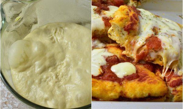 Impasto Pizza Antica Ricetta con Lievitazione 24 ore e Pieghe