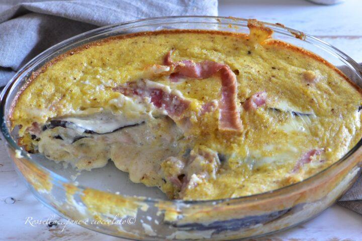 Tortino di Melanzane al forno la Ricetta Secondo Piatto saporito
