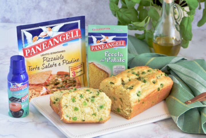 Plumcake Salato Asparagi e Piselli l' Antipasto perfetto di Primavera