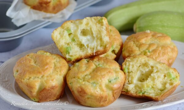 MUFFIN Salati in 5 minuti con Zucchine Ricetta Soffice e Saporita