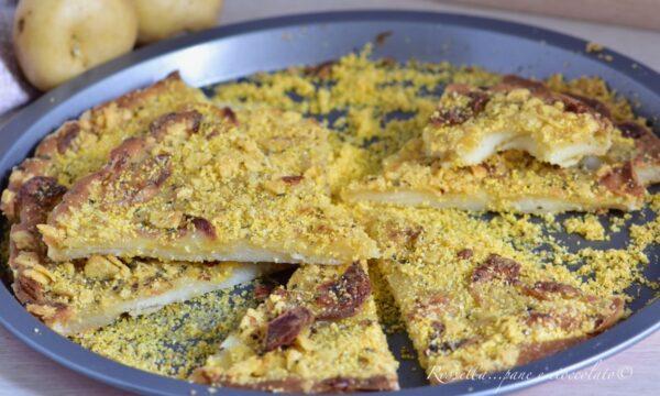 Croccantella alle Patate senza Lievito la Ricetta veloce per Antipasto