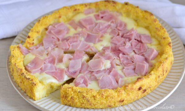 Crostata di Patate con Prosciutto e Mozzarella Antipasto o Secondo
