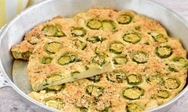 TORTA di Zucchine senza Lievito la Ricetta economica anche Antipasto