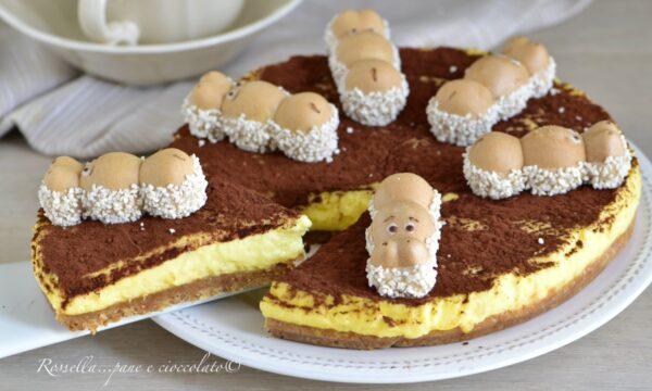 Torta Happy Hippo Tiramisu' senza Cottura la Ricetta DOLCE da fare